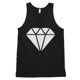 black-seek-truth-not-diamonds-mens-tank-top