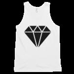 white-sek-truth-not-diamonds-mens-tank-top
