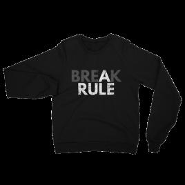 Break a Rule Unisex Crewneck Sweater