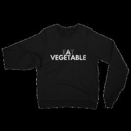 Eat a Vegetable Unisex Crewneck Sweater
