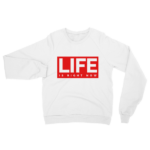 white-life-is-crewneck-sweater