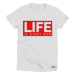 white-life-is-womens-graphic-t-shirt