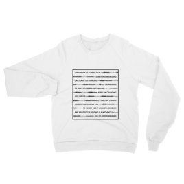 Wordplay Unisex Crewneck Sweater