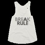 oatmeal-break-a-rule-womens-racerback-tank