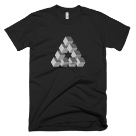 black-triangulation-mens-graphic-t-shirt