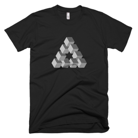 black-triangulation-mens-graphic-t-shirt