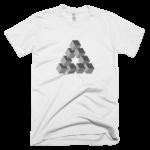 white-triangulation-mens-graphic-t-shirt