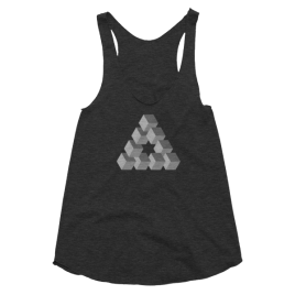 Triangulation Women's Racerback Tank Top