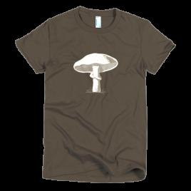 curious-mushroom-womens-t-shirt