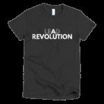 black-lead-a-revolution-womens-t-shirt