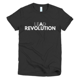 black-lead-a-revolution-womens-t-shirt