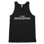 Black-lead-a-revolution-mens-tank-top
