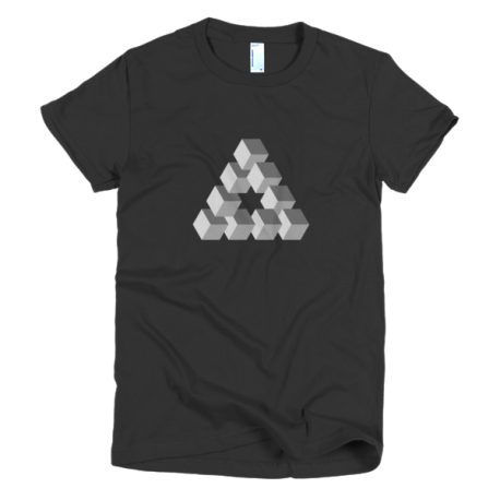 black-triangulation-womens-t-shirt