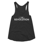 tri-black-lead-a-revolution-womens-racerback-tank-top