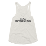 oatmeal-lead-a-revolution-womens-racerback-tank-top