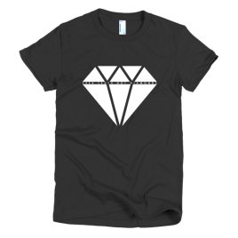 black-seek-truth-not-diamonds-womens-graphic-t-shirt