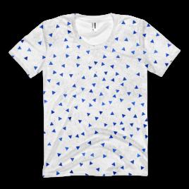 Triangular Snowflake Women's T-Shirt